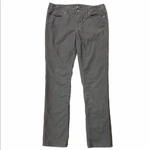 🌷3/$20 Loft Modern Straight Corduroy Gray Pants